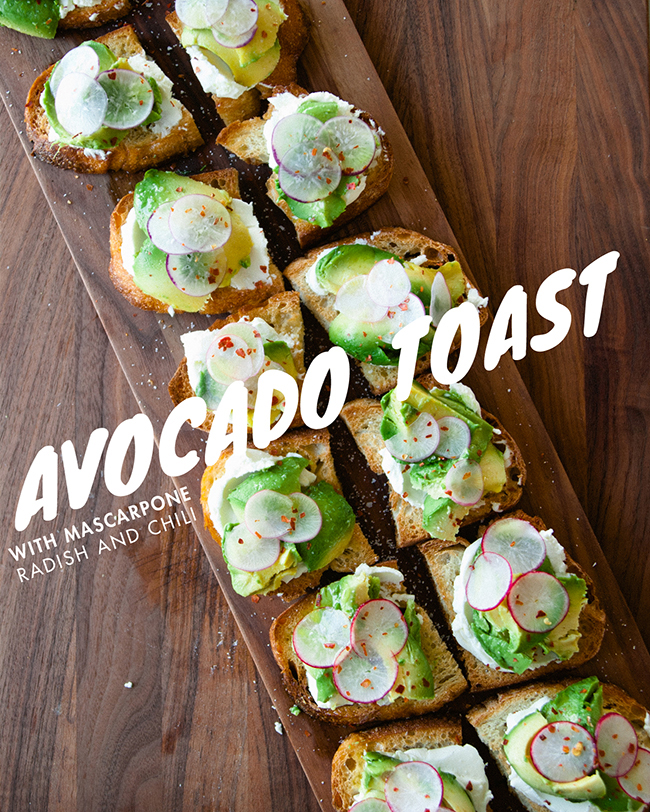 AVOCADO TOAST // The Kitchy Kitchen