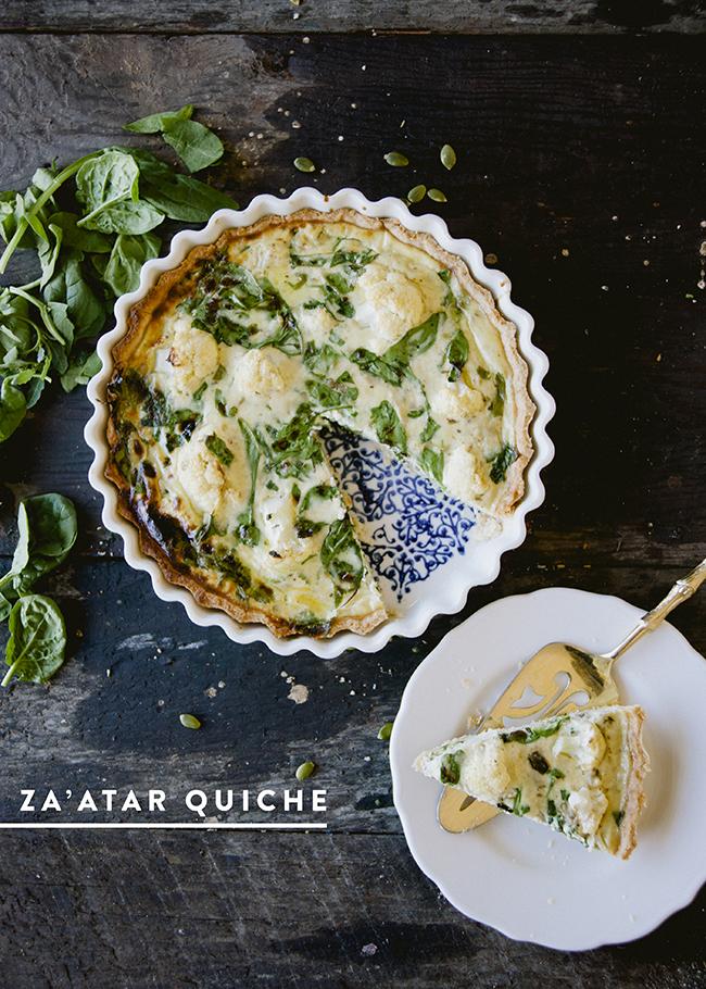 Zaatar quiche the kitchy kitchen forumfinder Image collections