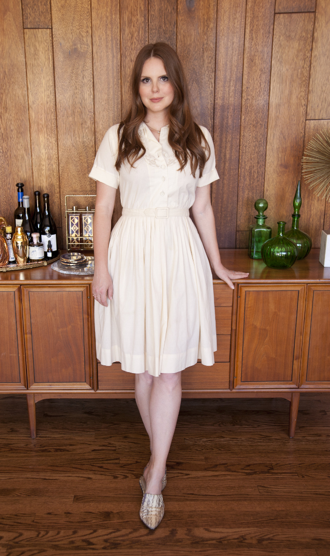 MY FAVORITE VINTAGE DRESSES // THE KITCHY KITCHEN