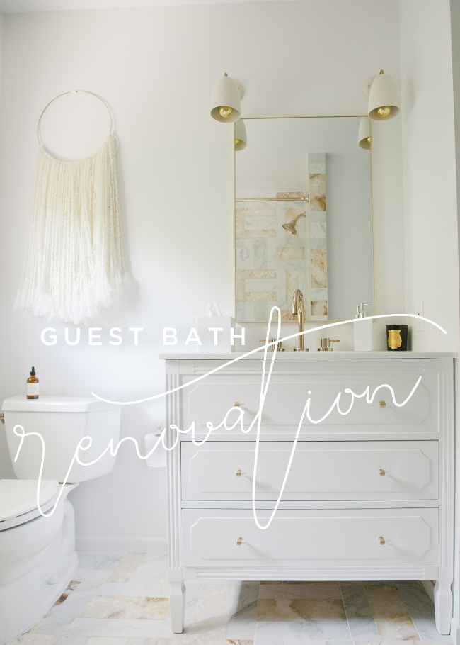 GUEST BATHROOM RENOVATION WITH PAYPAL - Guest bathroom renovation