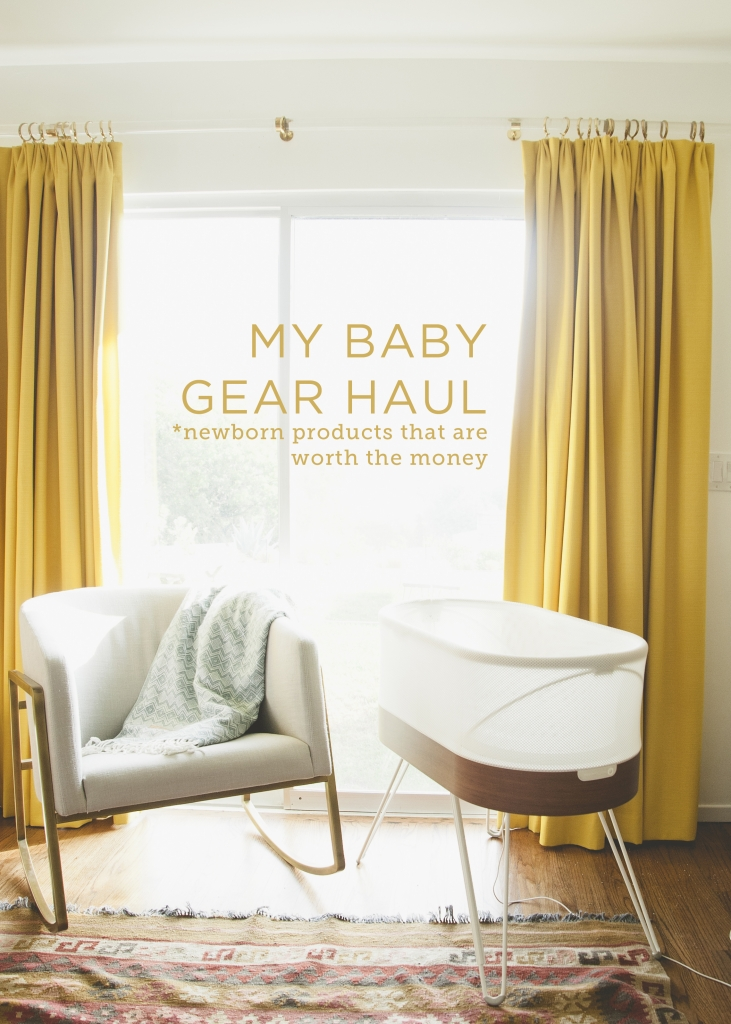 My Baby Gear Haul: Newborn Products That are Worth the Money // THE KITCHY KITCHEN